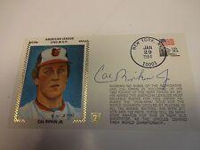 Cal Ripkin Jr. 1983 MVP Autographed Cache Baltimore Orioles JSA M92193