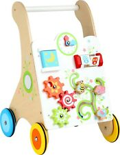 Small Foot Vivid Colours Baby Walker 10745 Childrens Toddler Wooden Toy