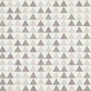 Grey Duck Egg Geometric Triangles Pyramids PVC Vinyl Wipe Clean Tablecloth Cover