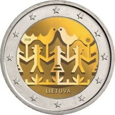 Lithuania 2 euro coin  2018 UNC Song and Dance celebration festival