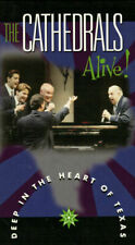 THE CATHEDRALS - ALIVE! DEEP IN THE HEART OF TEXAS (2000) VHS NEW sealed gospel