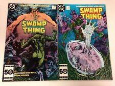 Swamp Thing #38 #39 #40 1985 Alan Moore John Constantine Hellblazer appearance