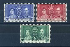 George VI (1936-1952) Postage Ceylon Stamps