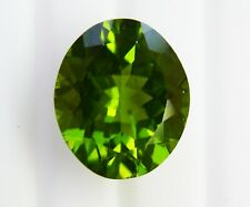 NATURAL 10.57ct!! PERIDOT- UNTREATED- EXPERTLY FACETED IN GERMANY+CERT AVAILABLE