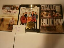 3 used drama dvds the visitor/rocky/the usual suspects Ebm3445 Free Shipping
