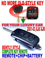 BENTLY STYLE FLIP CHIP KEY REMOTE FOR JAG XJ8 XJR KEYLESS ENTRY FOB TRANSPONDER