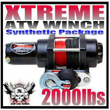 2000Lb Xtreme Atv Winch 2000 Lb Waterproof Kit Rt