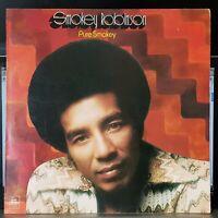 Smokey Robinson - Pure Smokey - 1974 LP record excellent
