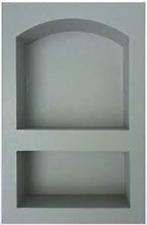 Compotite Architectural Arched Double Niche / Insert / Shelf (NEW)