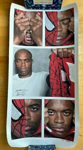 Anderson The Spider Silva UFC Champion Fine Art Eric Williams Signed Autographed