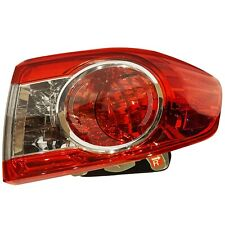 DEPO Left Driver Side Taillight Tail Lamp For Toyota Corolla L LE S 2011-2013