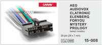 Adapterkabel Radio Kabel kompatibel mit PROLOGY Radio ISO DIN Stecker lose