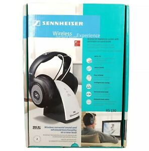 Sennheiser RS 130 RF Wireless Headphone System With Switchable Surround