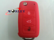 Silicone Key Remote Case Cover VW Golf Polo Boro Beetle Touran MK4 MK5 MK7 GTI