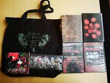 D 45 Cheki + 4 DVD + CD + Merch Set (Visual Kei, Versailles,Kamijo,Kaya,Asagi)