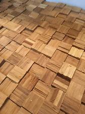 Bambusmosaik  Mosaikplatten Bambus roh Wandgestaltung 3 m²
