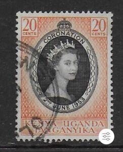 1953 - British East Africa (KUT) QEII Coronation 20c Stamp Used SG165