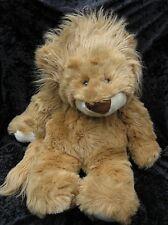 "VTG Commonwealth Large Plush Lion Tan Cream Stuffed Animal 30"" Tush Tag Only"