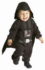 Darth Vader Baby Boys Fancy Dress Star Wars Infant 6mth - 12 Mth 1yr Costume