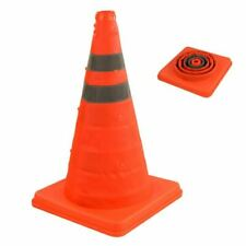 "2x 18"" Pop up Collapsible Portable Safety Cone Football Traffic Driving Cones"