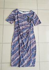Esprit Collectio Sommer Stretch Etui Kurzarm Print Kleid Gr M 38 40 LP69,99€ NEU