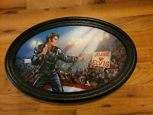 The King Of My Heart: Elvis Personalized Collector Plate by Bruce Emmett