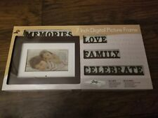 "NEW Digital Decor 7 "" DIGITAL PICTURE FRAME w/ Plates"