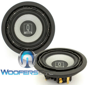 """MB QUART QWC-100 4"""" Q MIDRANGE SPEAKERS FROM QSC-210 MADE IN GERMANY PAIR NEW"""