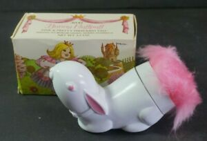 Vintage Avon Bunny Fluffpuff Pink & Pretty Talc Powder New Old Stock