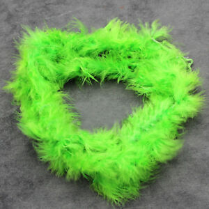 2 Meters Marabou Feather Boa For Fur Fake Garlands Boas Fancy Dress Shawl Party