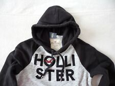 Mens Hollister by Abercrombie & Fitch Fleece Hoodie Sweatshirt Size Small