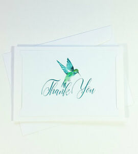 Thank You Cards Notes Bird Wedding Business Birthday Thankful Card IS THANK73