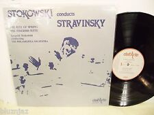 "Stokowski-Stravinsky~Rite of Spring-Firebird Suite~Dell""Arte Da 9005 Lp GB  NM-"