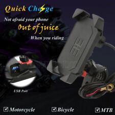 Motorcycle USB Charger Phone holder For Yamaha V-Star XVS 1300 950 Tourer Deluxe