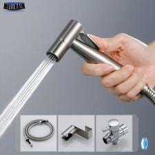 Handheld Toilet bidet sprayer set Kit Stainless Steel Hand Bidet faucet for