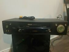 New listing Rca Vr701Hf Video Cassette Recorder Player HiFi Stereo Vcr No Remote Tested