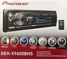 Pioneer DEH-X9600BHS RB CD/MP3 Player Bluetooth HD Radio XM Radio Ready Remote
