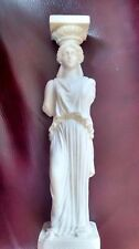 Greek Lady Statue  Alabaster / Marble  Statue / Sculpture / Ornament Figure
