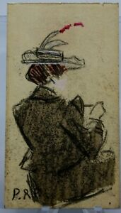 SIGNED PABLO PICASSO FANTASY MINI-DRAWING FROM THE EARLY YEARS IN PARIS
