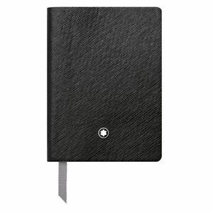 Montblanc Notizbuch Fine Stationery Notebook #145 Black, liniert 113295