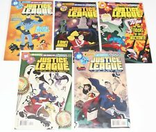 Justice League Unlimited #1,2,3,4,5 - High Grade NM - 2004 DC Animated Comic