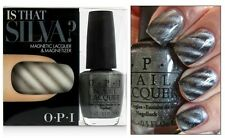 OPI SKYFALL ~Is That Silva?~ MAGNETIC Metallic Grey Nail Polish Lacquer Set D40