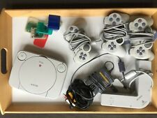 Sony Playstation PS One Video Game Console With Controllers and Memory Cards