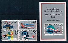 Briefmarken mit Verkehrs- & Transport-Motiven aus der DDR