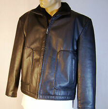 ORIGINAL LEATHER COMPANY Men's Leather Jacket  Sz: Large
