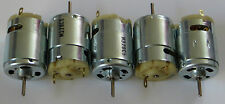 5 X 12 VDC Robot Motor - High Torque - Great for R/C - 3800 RPM - 12 V DC