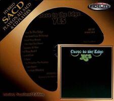SEALED AUDIO FIDELITY CD / SACD  -  YES  - CLOSE TO THE EDGE