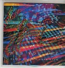 (CU206) Super Best Friends Club, Yes You Are - DJ CD
