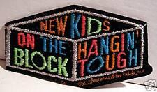 NKOTB Hangin Tough Block Asst. Rock Concert Band Patch