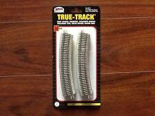 "Atlas 1/160 N Scale True-Track 12.5"" Radius Curved Track 8-Pack Item # 2412 F/S"